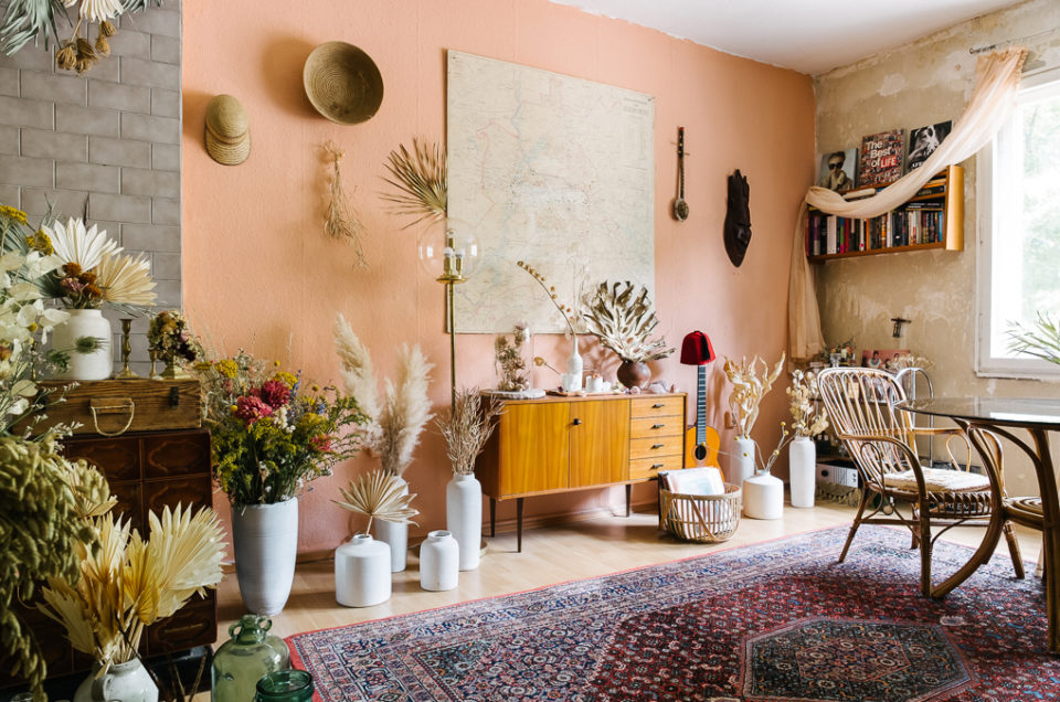 Tour of Botanical Stylist Vintage Apartment